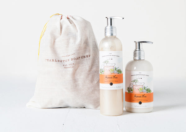 Sweet Tea Moisturizing Lotion and Hand & Body Wash Gift Set