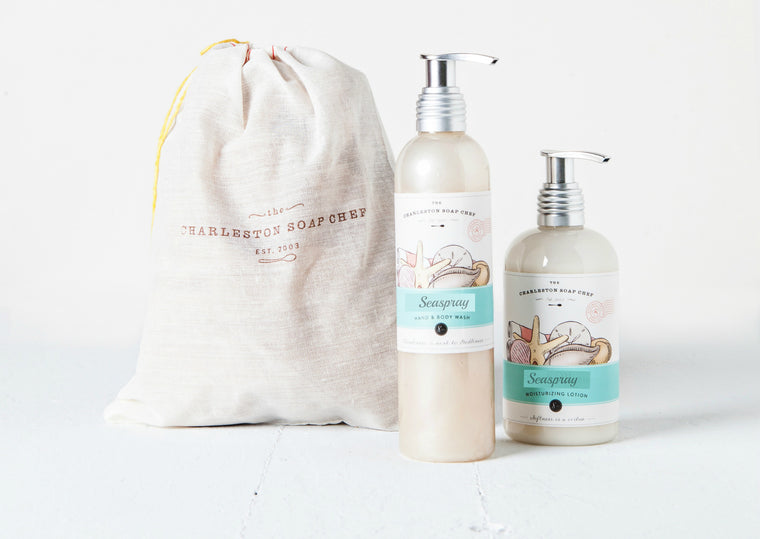Seaspray Moisturizing Lotion and Hand & Body Wash Gift Set