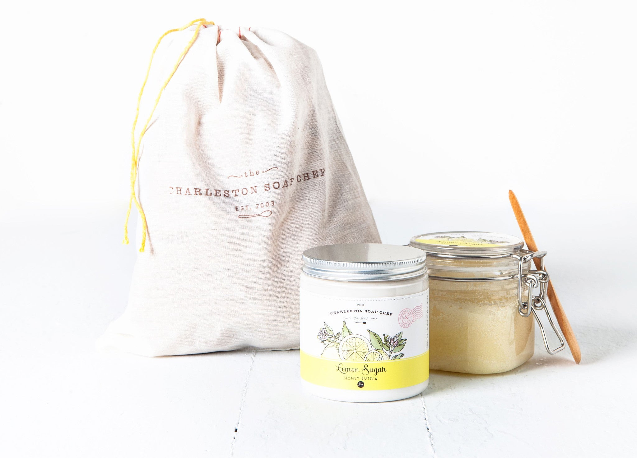 Lemon Sugah Honey Butter & Sugah Scrub Gift Set