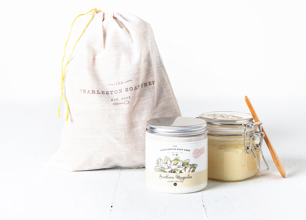 Southern Magnolia Honey Butter & Sugah Scrub Gift Set