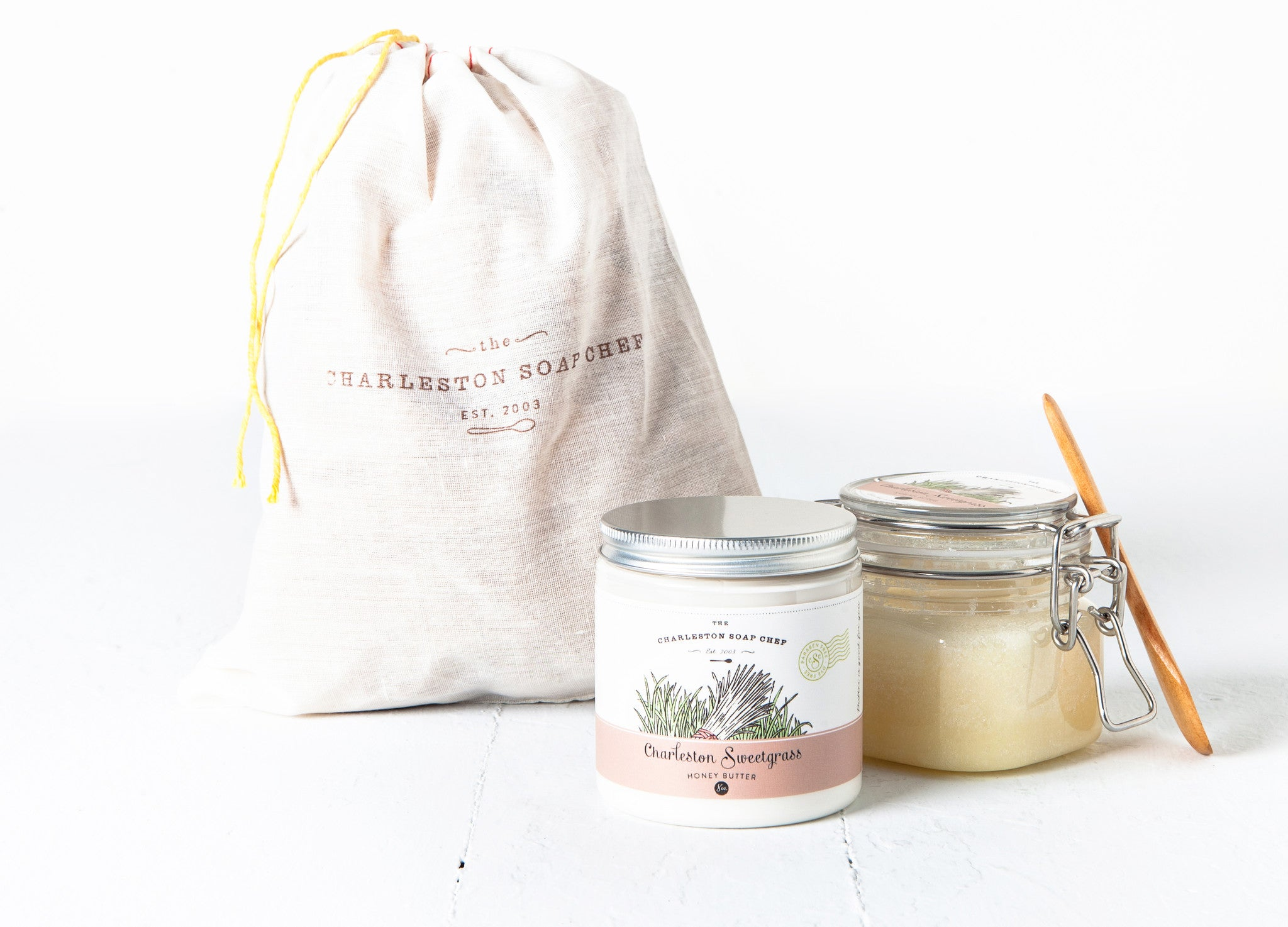 Charleston Sweetgrass Honey Butter & Sugah Scrub Gift Set
