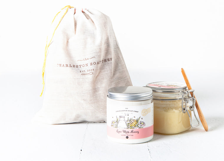 Love Milk Honey Butter & Sugah Scrub Gift Set