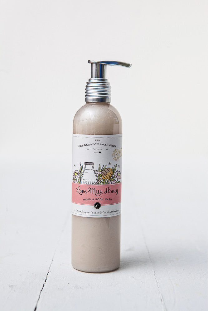 Love Milk Honey Hand & Body Wash