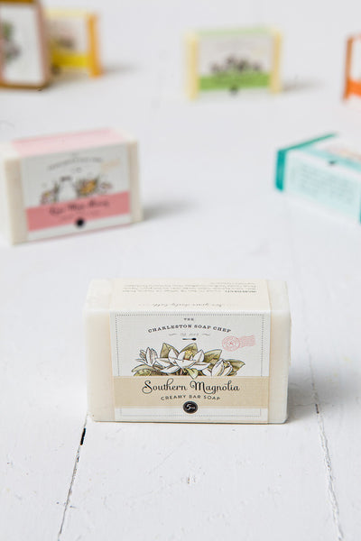 Southern Magnolia Soap Bar