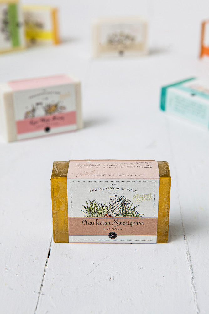 Charleston Sweetgrass Soap Bar