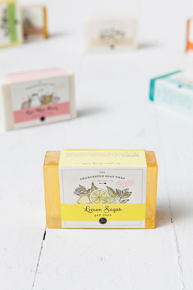 Lemon Sugah Soap Bar