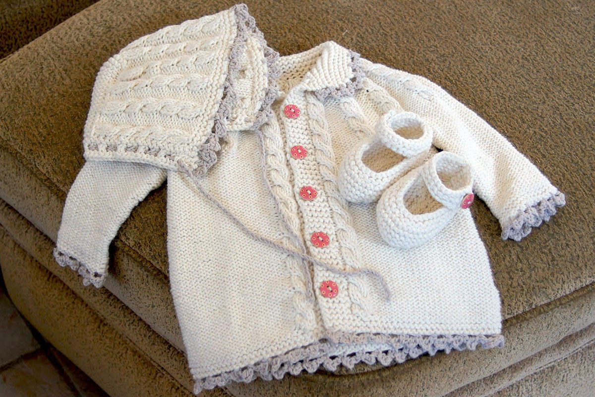 baacb7ae4 Baby Girl Matching Sweater