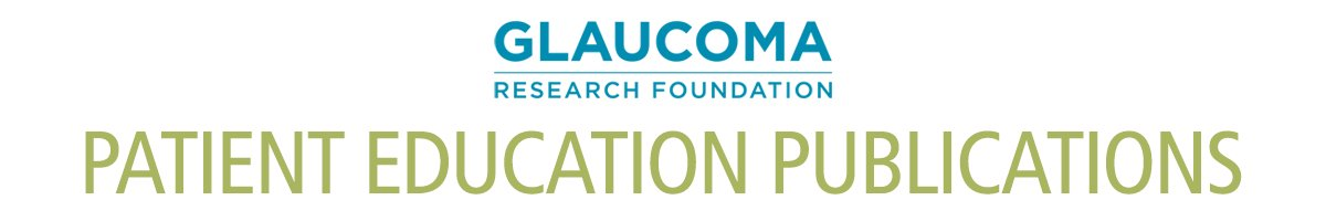 Glaucoma Research Foundation Store