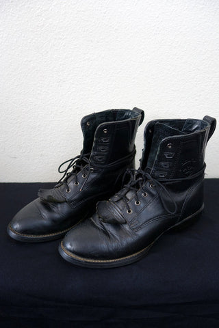 Womens Black Ariat Lacer Boots 8.5B