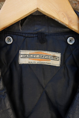 Vintage 1950's Harley Davidson Leather Jacket