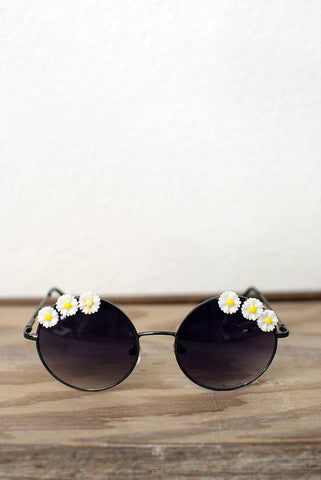 Round Sunflowers Sunglasses