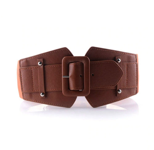Wide Waist Cinch Belt