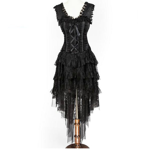 Steampunk Lace Corset Dress