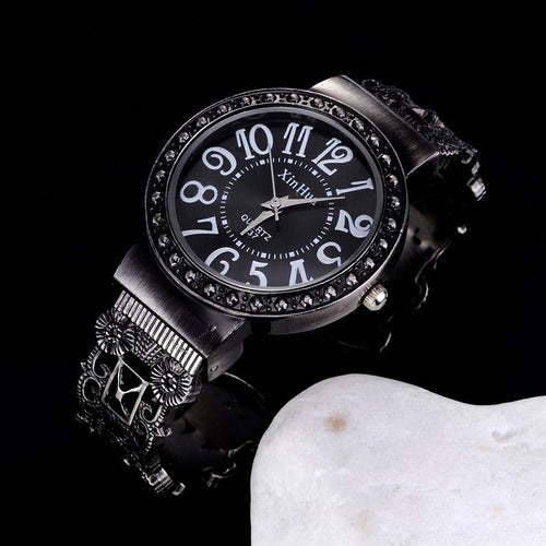35MM Stainless Steel Steampunk Watch