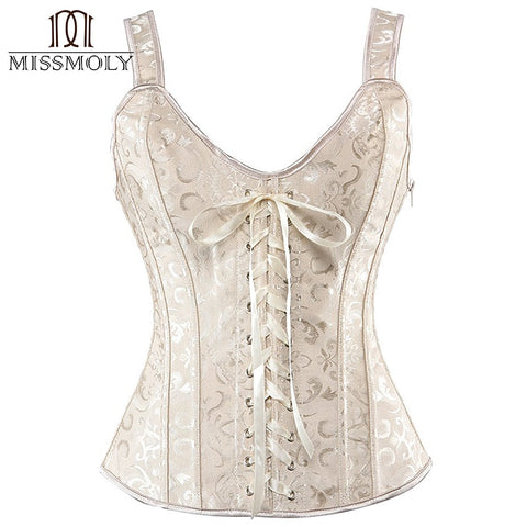 Satin & Lace Corset Shaper