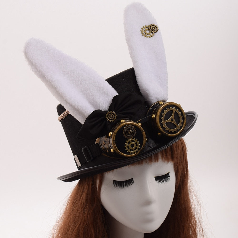 Steampunk Party Bunny Hat