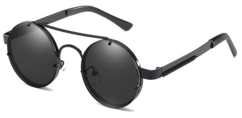 50mm Steampunk Mirrored Sunglasses