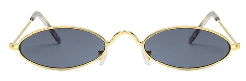 49mm Steampunk Oval Sunglasses