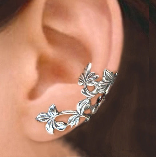 Antique Sterling Silver Ear Cuff