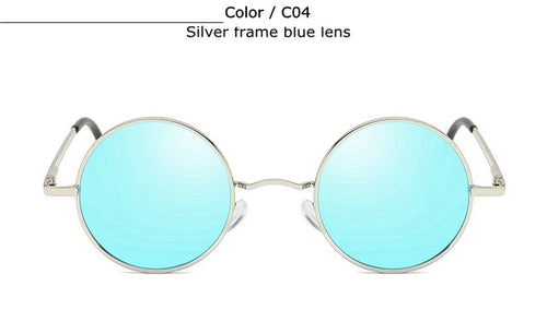 Classic Steampunk Round Sunglasses For Men and Women