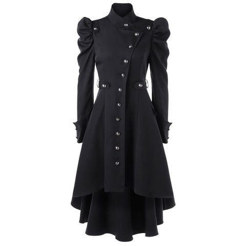 Ruffle Collar Flounce Sleeve Dress