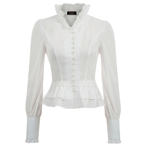 Classic Steampunk Structured Blouse