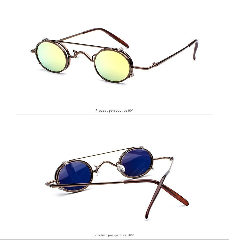 Retro Steampunk Polarized Sunglasses