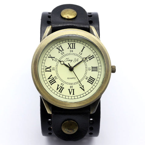 Large Face Steampunk Watch