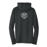 2019 Holler On The Hill Moto Wolf Pullover Hoodie Black
