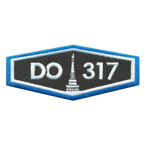 Do317 Embroidered Patch