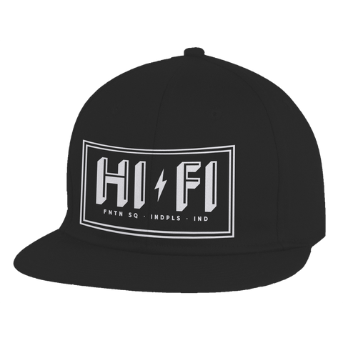 HI-FI Embroidered Flatbill Hat