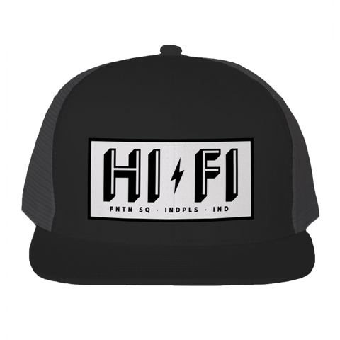 HI-FI Patch Trucker Snapback Hat