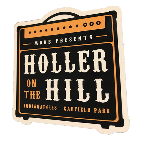 2018 Holler On The Hill Amp Sticker