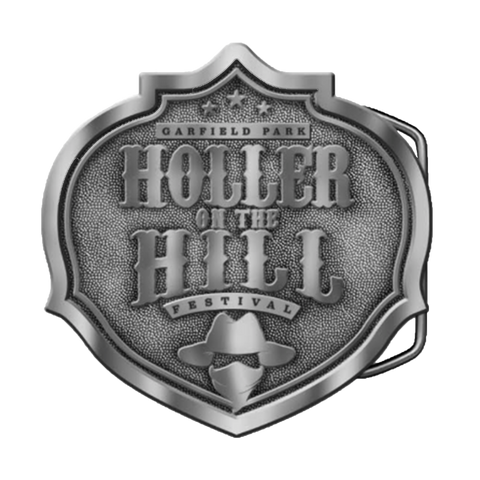 2018 Holler On The Hill Belt Buckle )Limited Edition)