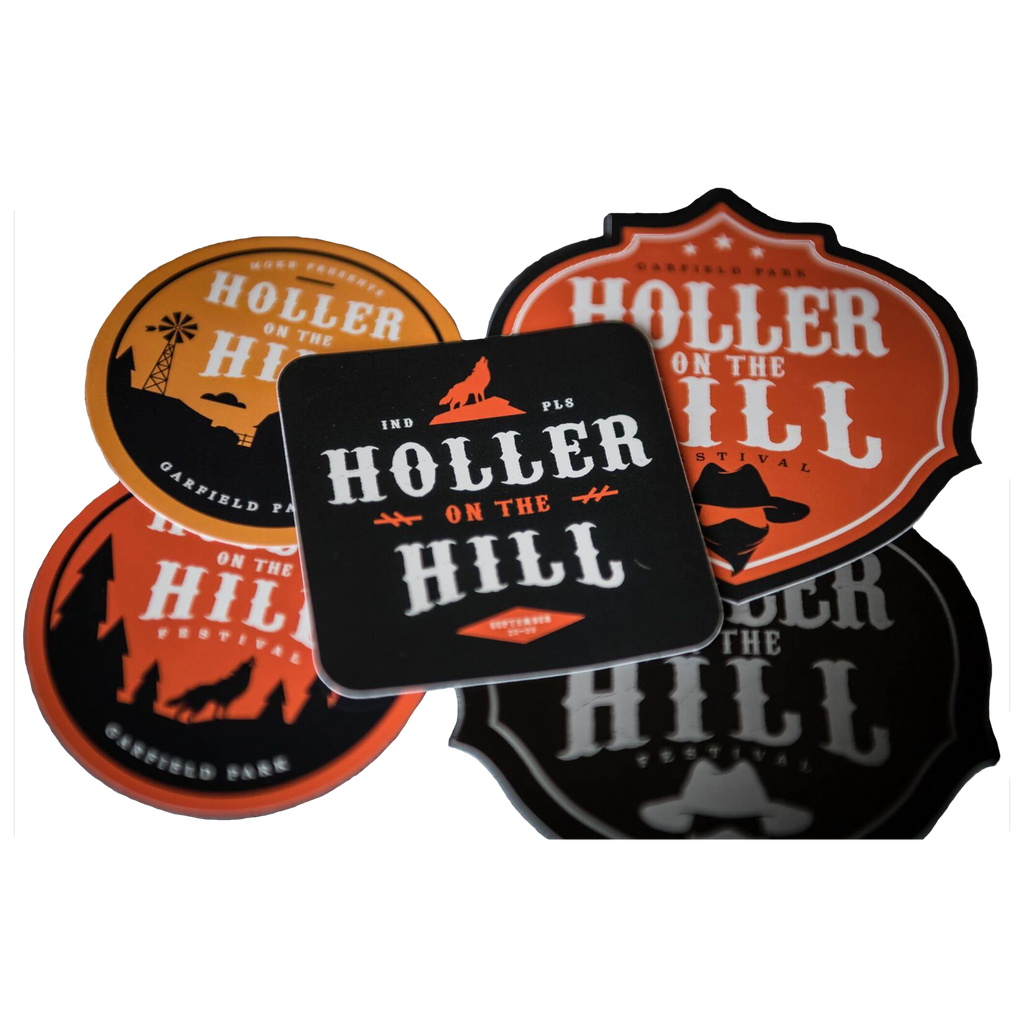 2018 5-Sticker Pack - Holler On The Hill
