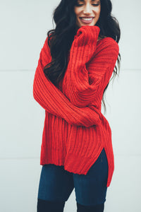 Extra Merry Red Sweater
