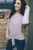 Candy Cane Lane Striped Top