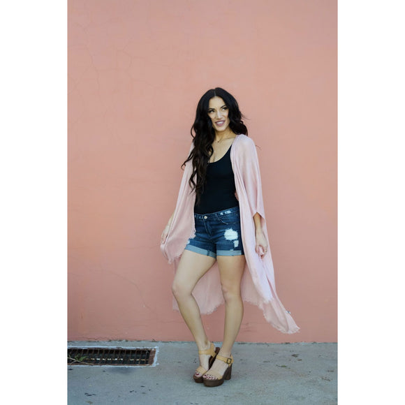 Summer Fling Blush Duster