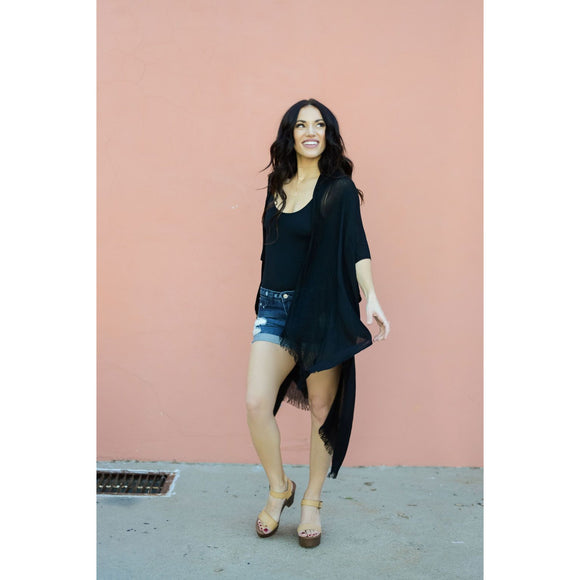 Summer Fling Black Duster