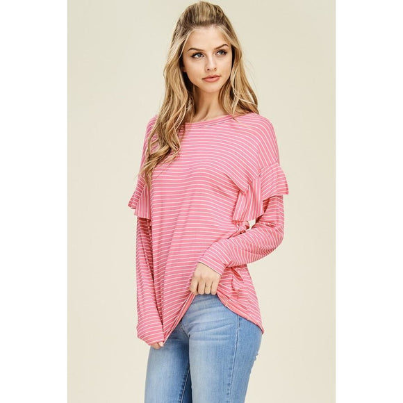 Spring Ahead Striped Top