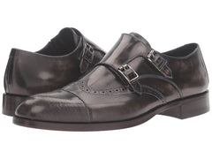 Men's Double Monk Strap Shoes