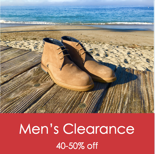 Men's Clearance 40-50% off with promo