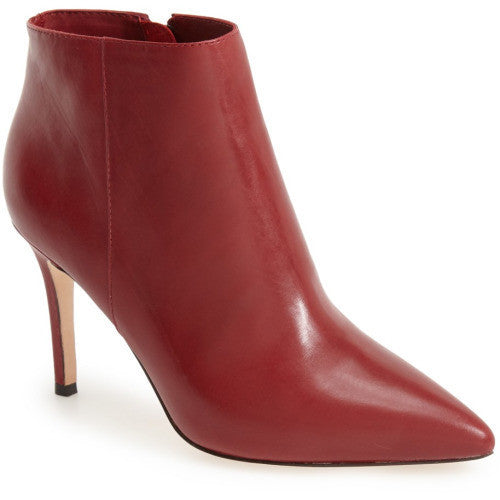 Bettye Muller - Grayson Stiletto Boots in Burgundy - Seaside Soles