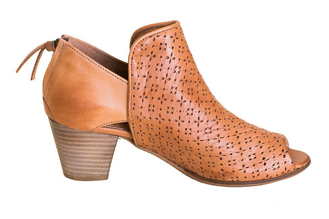 Coque Terra - Poet Open Toe Bootie - Seaside Soles