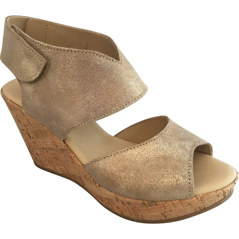 Cordani - Rhonda Cork Wedge Sandal - Seaside Soles