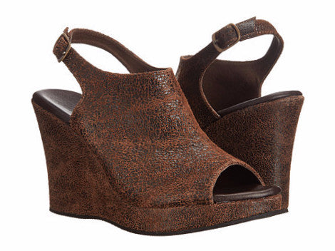 Cordani - Wellesley Wedge Sandal Brown - Seaside Soles