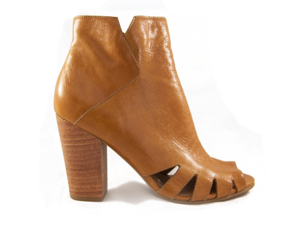 Fortress of Inca Julietta Peep Toe Bootie - Seaside Soles