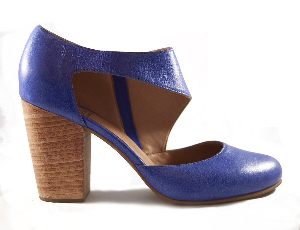 Fortress of Inca - Victoria Luz Block Heel Pump - Seaside Soles