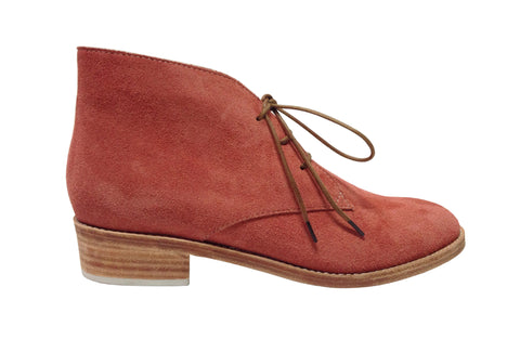 Huma Blanco - Manuela Chukka Boot in Coral - Seaside Soles