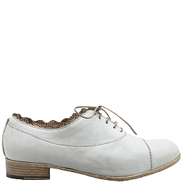 I.N.K. - Gesso Lace-up Women's Italian Oxford - Seaside Soles